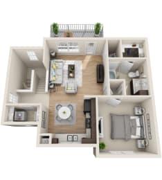 Floor Plan CH-1