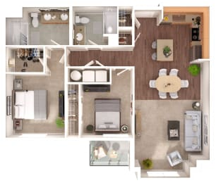 Carroll Floorplan at Discovery Heights, Issaquah, WA
