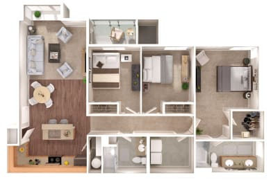 Manchest Floorplan at Discovery Heights, Washington