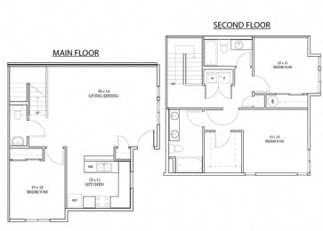 Waterford Floorplan at Discovery Heights, Issaquah