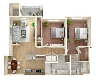 Floor Plan Bonney