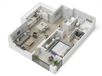 Uptown Boca A3 Floor Plan