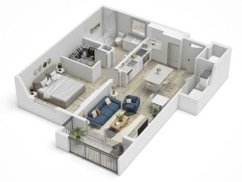 Uptown Boca A4 Floor Plan