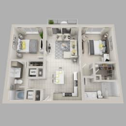 Floor Plan Jubilee - B1