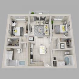 Floor Plan Luminous - B2