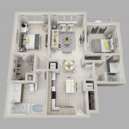 Floor Plan Serenity - B6