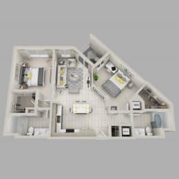 Floor Plan Spellbound - B7