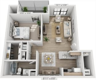 Floor Plan MARTINIQUE