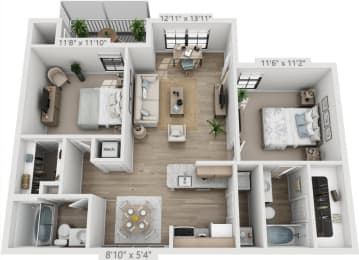 Floor Plan RIVIERA