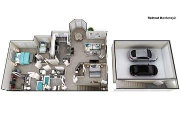 Floor Plan Monterey II, opens a dialog