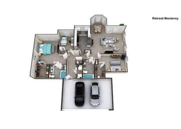 Floor Plan Monterey I, opens a dialog
