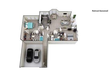 Floor Plan Sonoma II, opens a dialog