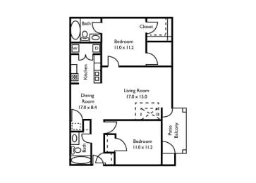 2 bedroom, Atlanta, GA, apartments, rentals
