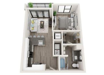 Floor Plan A4-A