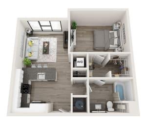 at Link Apartments® Montford, Charlotte, 28209
