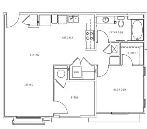 A1 floor plan Preserve at Melrose