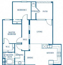 Catalina Floor Plan, at Greenfield Village, California, 92154