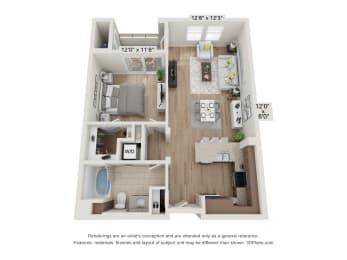 Main Street Village Lassen Floor Plan