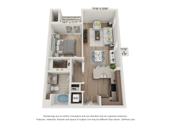 Main Street Village Stanislaus Floor Plan