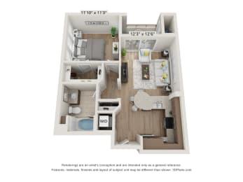 Main Street Village Tahoe Floor Plan