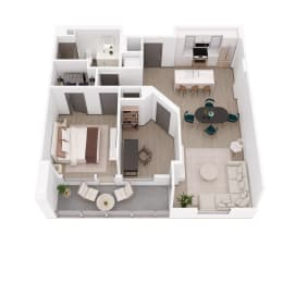 Floor Plan A + DEN