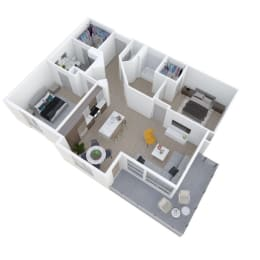 Floor Plan B TWO