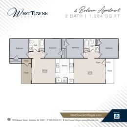 Floor Plan 4 Bedroom
