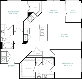 two bedroom apartments in haltom city, opens a dialog
