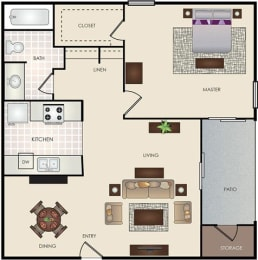 Floor Plan 1-1