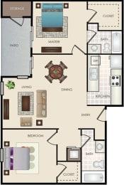 Floor Plan 2-2