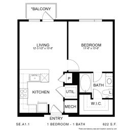 Floor Plan SE.A1.1, opens a dialog