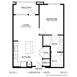 Floor Plan SE.A2.1, opens a dialog