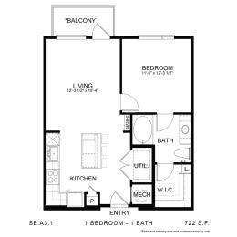 Floor Plan SE.A3.1, opens a dialog