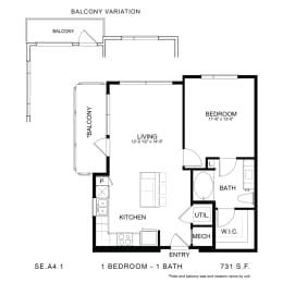 Floor Plan SE.A4.1, opens a dialog