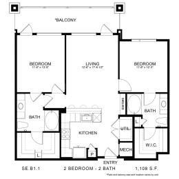 Floor Plan SE.B1.1, opens a dialog
