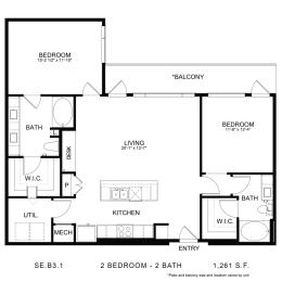 Floor Plan SE.B3.1, opens a dialog