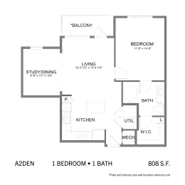 Floor Plan SS.A2DEN, opens a dialog