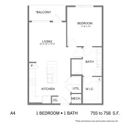 Floor Plan SS.A4, opens a dialog