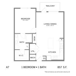 Floor Plan SS.A7, opens a dialog