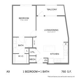 Floor Plan SS.A9, opens a dialog