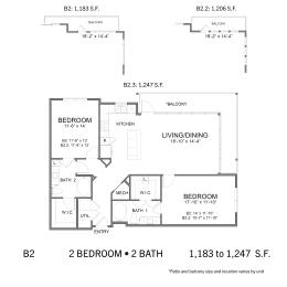 Floor Plan SS.B2, opens a dialog