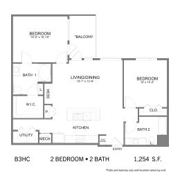 Floor Plan SS.B3HC, opens a dialog