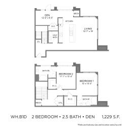 Floor Plan WH.B1D