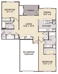 Nob Hill Floor Plan at Providence at Old Meridian, Indiana