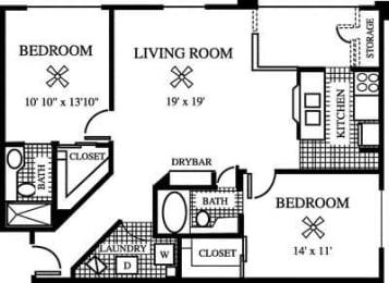 Floor Plan The Evergreen