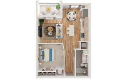 Floor Plan A1 Studio