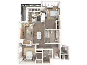 San Diego 1 Floorplan