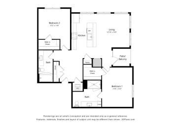 Floor Plan 2I.1