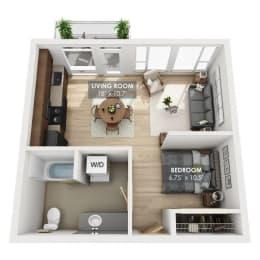 Boxcar Caboose Floor Plan