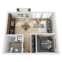 Boxcar Mainline Floor Plan
